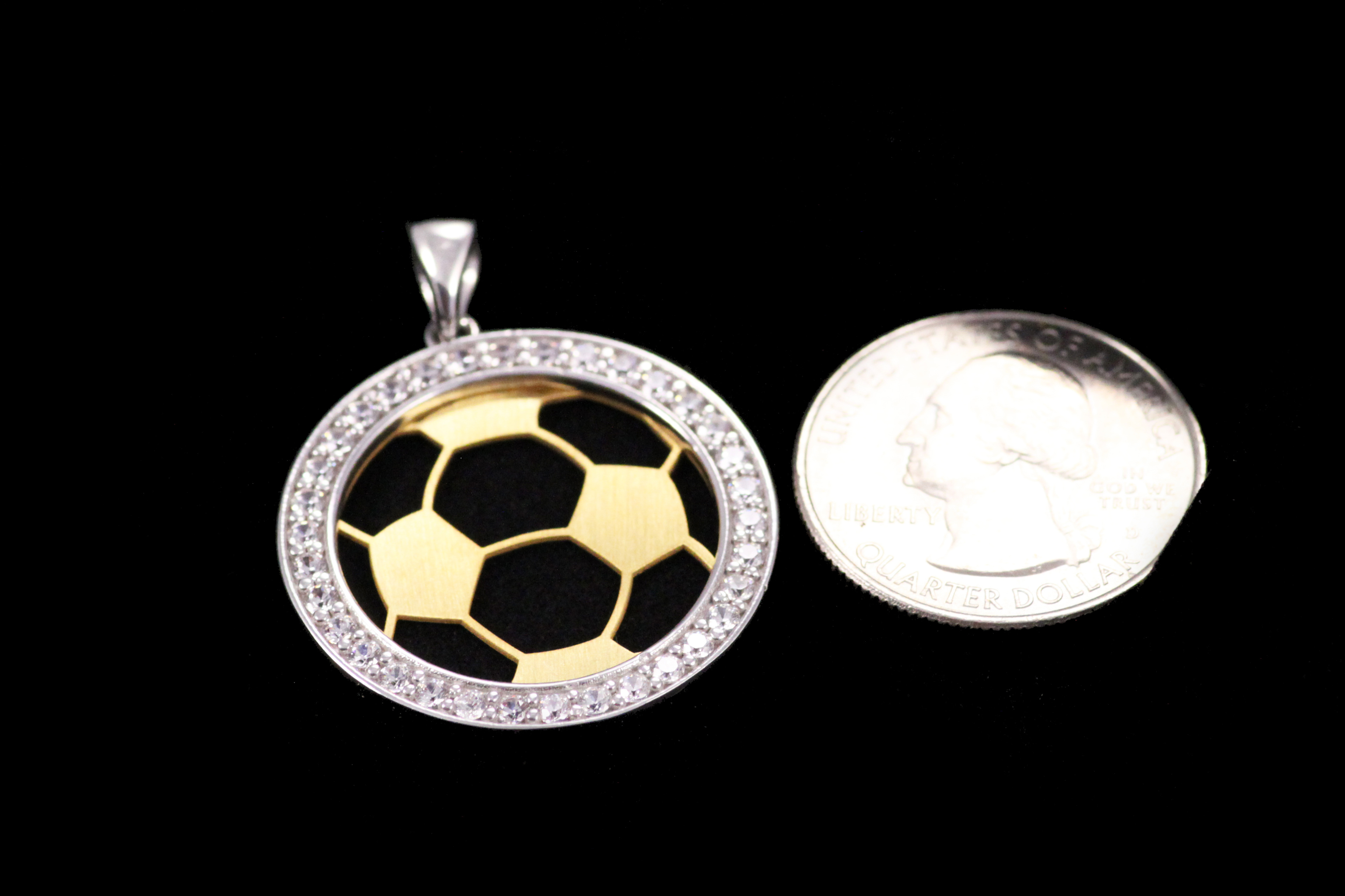 girls pendant religious tc product gifts sport girl soccer medal